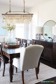 more dining room light options life on virginia street clarissa glass drop chandelier audiocablefo