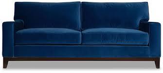 one kings lane manhattan velvet sofa