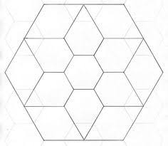 Step 1: Make Your 2-in Hexagon Template | Template, Patchwork and ... & Step 1: Make Your 2-in Hexagon Template | Template, Patchwork and Paper  piecing Adamdwight.com