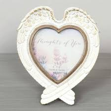 thoughts of you heart shaped wing 4 x photo frame angel picture ornaments angel with frame