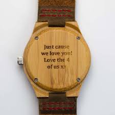 Watch Engraving Quotes Cool 48 Creative Engravings For Your Father's Day Gift Tree Hut Wooden