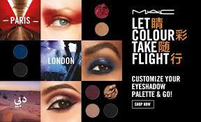 mac cosmetics collect at