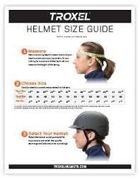 Child Ski Helmet Size Chart Helmet Size Guide Troxel Helmets