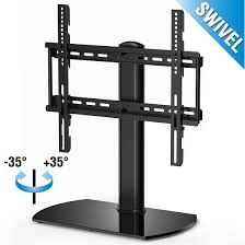 fitueyes universal tabletop tv stand base with swivel mount for 32 40 inch tv idea 8