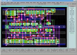 fulladder layout ic layout designer