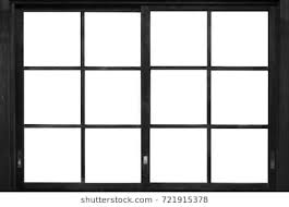 window frame. Fine Frame Black Wood Window Frame Isolated On White Background To Window Frame E