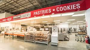 costco bakery inside a costco