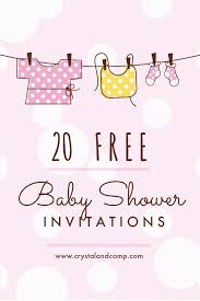 Free Baby Shower Invitations Printable Free Baby Shower Invitation Template Ingeniocity Co
