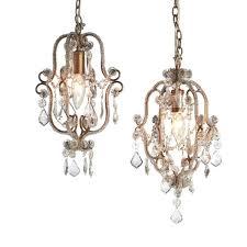 petite crystal chandelier mini crystal chandelier antique gold 1 light lamp shade pro regarding stylish residence