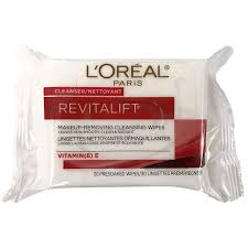 l oreal revitalift makeup removing wipes vitamin e 30 s london s