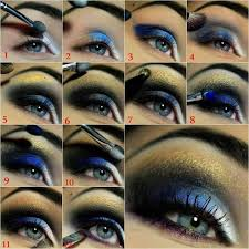 sapphire blue smokey eye makeup tutorial fantastic night tutorials that will transform you in a real