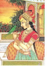 mughal painting this one is a mughal painting which has been re