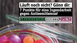 Für Eine Antisemitismuskritische Jugendarbeit In Niedersachsen