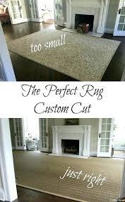 custom sisal rug custom shaped rug fireplace cut out photo of custom size wool sisal rug
