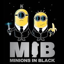 minions in black august 2017 wallpaper