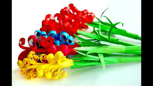 Paper Flower Images How To Make A Paper Flowers Youtube