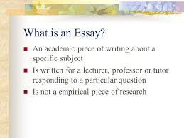 dr nda hill advanced english c a designing essays research  what is an essay