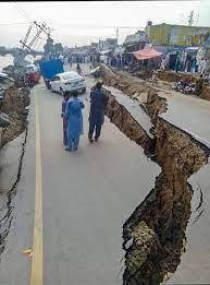 PoK earthquake ...