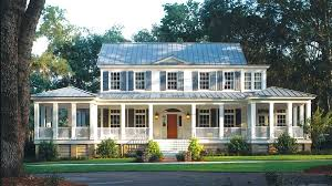 house plans with porches on front and back island house plan ranch home plans with large