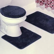 bathroom rug sets navy