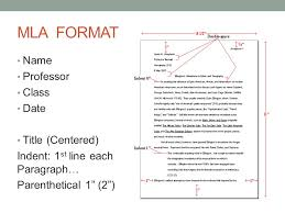 MLA Format: What should my paper look like? - ppt video online ...