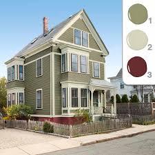 exterior color schemes brown