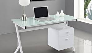 metal depot black glass table corner desk argos top for computer likable furniture fantastic frame home