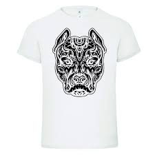 Us 1139 18 Offpitbull Tattoo Art Dog Breed Skull Piston Dtg Mens T Shirt Tees100 Cotton Short Sleeve O Neck Tops Tee Shirts Fashion Classic In