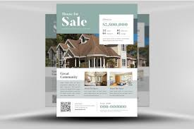 Stunning Real Estate Flyers Templates Template Ideas Flyer