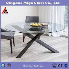 clear tempered glass tabletops for