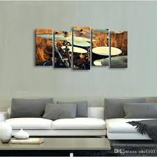 >drum themed wall art world unique imports drum set metal wall  high definition print shelf drum canvas painting poster and wall art living room picture jg drum a great piece of wall art featuring a sketched drum kit
