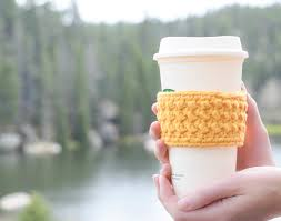 Starbucks Cup Cozy Crochet Pattern Cool Decoration