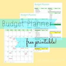 17 Best Ideas About Printable Budget Planner On Pinterest Within ...