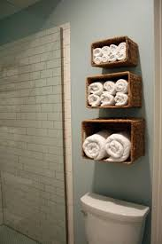 tiered trio ascending towel baskets