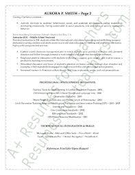 Resume Cover Letter Special Education Teacher Adriangatton Com