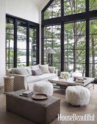 modern rustic interior design. Interior Designer Anne Hepfer\u0027s Modern Rustic Summer Lake House In Muskoka. Design