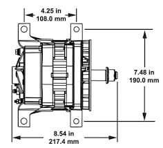 alternators by model family delco remy quick links installation instructions