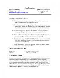 Foxy Sample Laborer Resume Template General Labor Construction