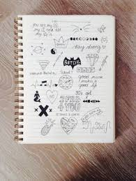 cute notebook doodles google search