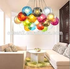 hand blown glass chandelier coloured hanging glass hand blown glass chandelier hand blown glass pendant