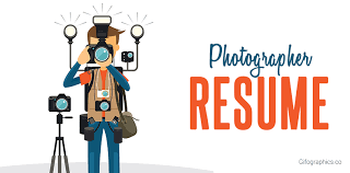 Photographer Resume [Infographic Template] - Gifographics.co