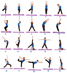 Beginner Yoga Routine Chart Cool Wallpaper Ideas