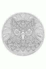 25 Het Beste Moeilijke Voor Volwassenen Uil Kleurplaat Mandala