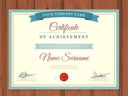free certificate of completion template 25 free certificate templates