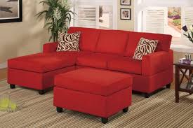 Red Living Room Furniture Sets Sectional Couch Comfortable Living Room Furniture Set With Black