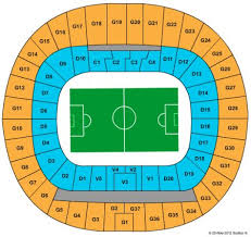 51 Skillful Warsaw National Stadium Seating Chart