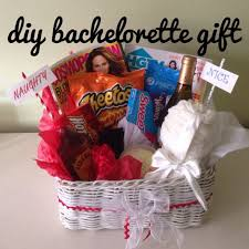 and nice bachelorette party gift basket