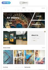 Gallery Design Html Art Gallery Multipage Html5 Website Template