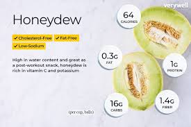 Cantaloupe Nutrition Chart Honeydew Nutrition Facts Calories And Health Benefits