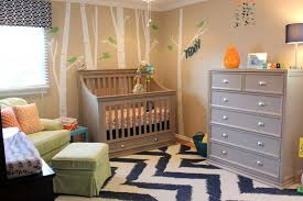 melisa of project nursery says i take it back for saying beige is boring this room is complete with cool colors great patterns and the awesome